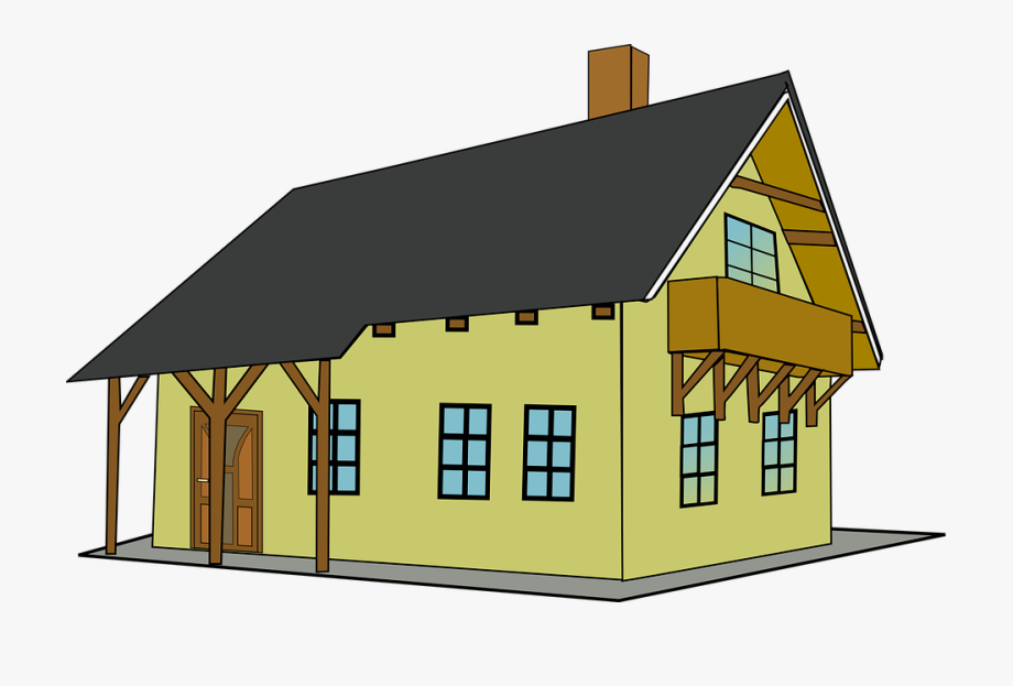 Old colonial house clipart jpg transparent library Colonial House Cliparts - Old House Clipart , Transparent Cartoon ... jpg transparent library
