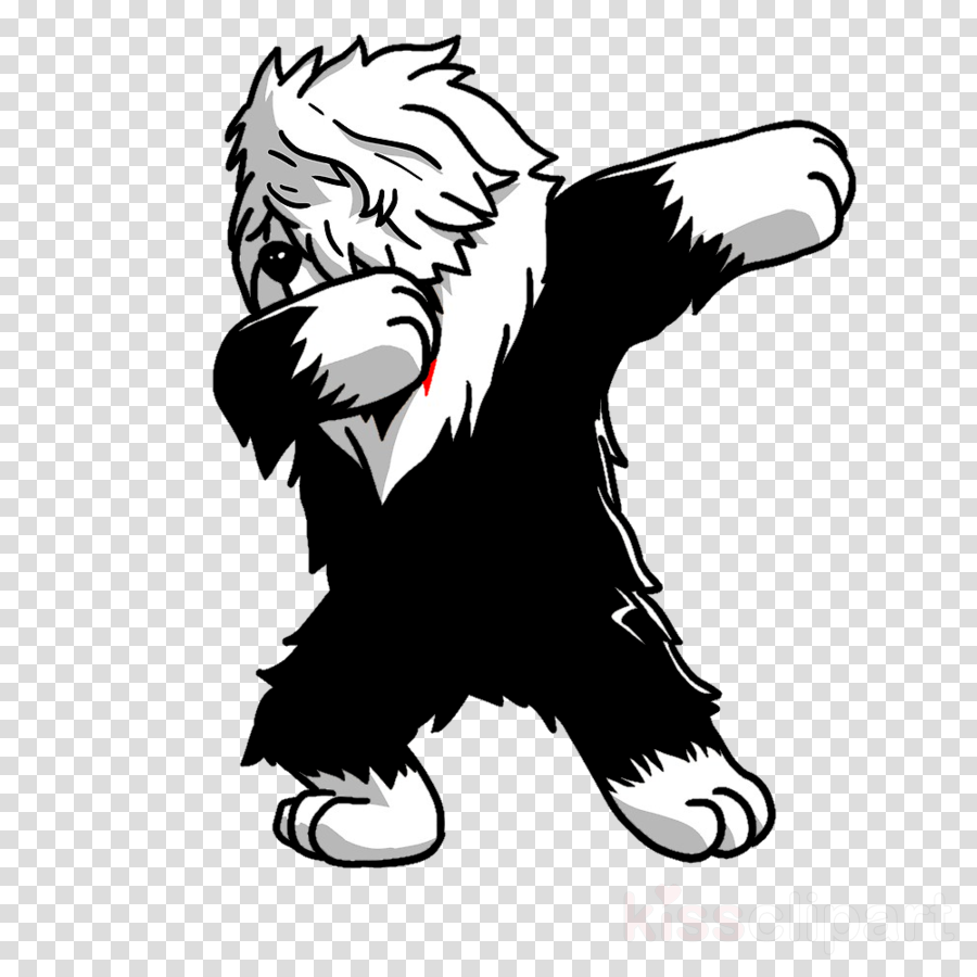 Old english sheepdog clipart royalty free library Dog Drawing clipart - Clothing, transparent clip art royalty free library