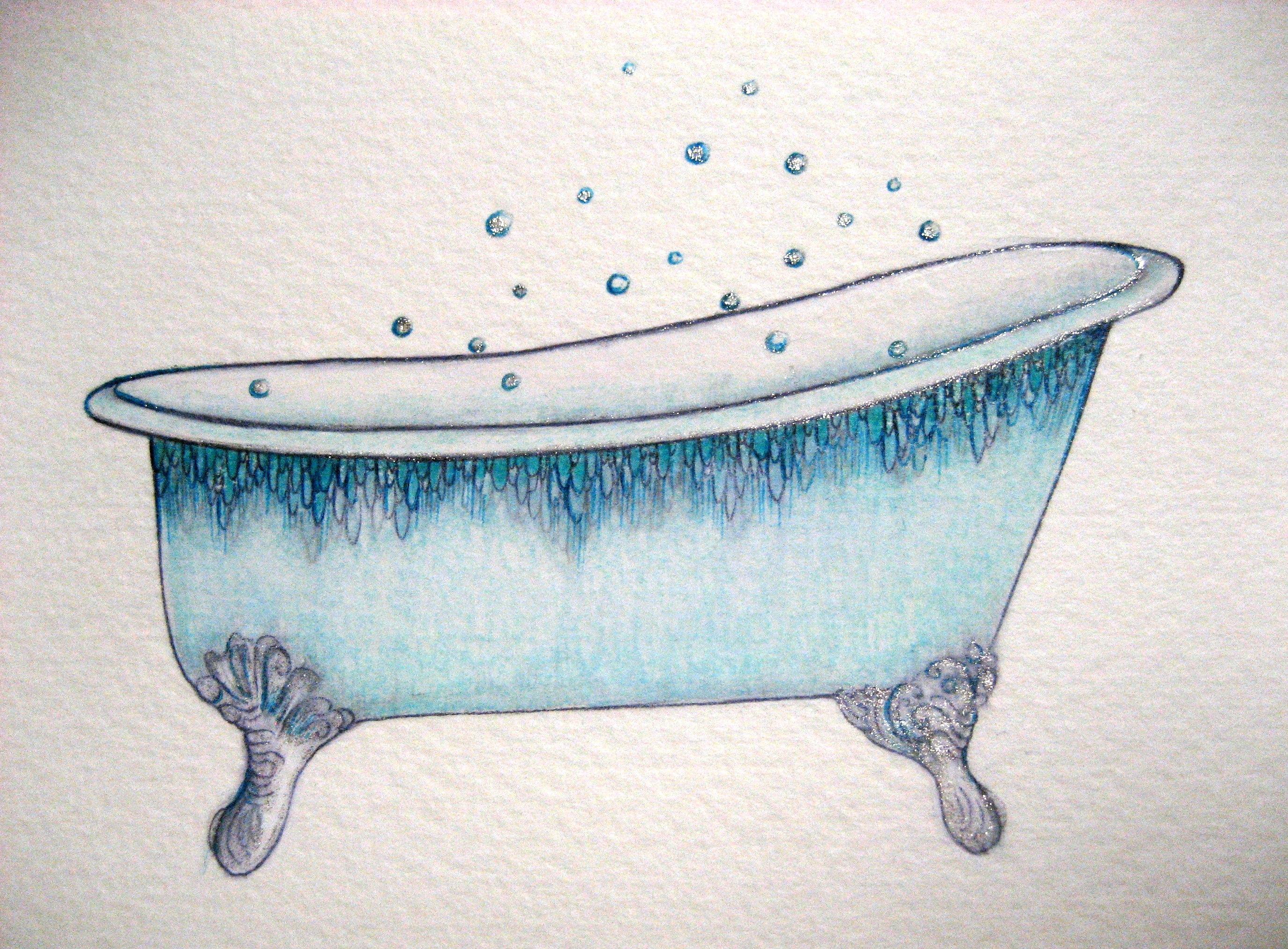 Old fashioned bathtub clipart clipart freeuse Vintage Bathtub Clipart Clipart Suggest Deep Soaking Bathtub clipart freeuse