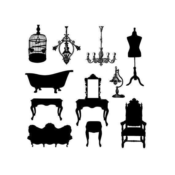 Old fashioned bathtub clipart vector black and white Old fashioned bathtub clipart - Clip Art Library vector black and white