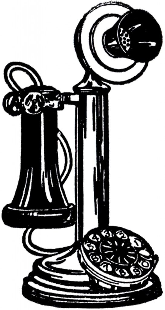 The first telephone clipart png download Old Fashioned Telephone Image Clip Art Digital Stamps Graphics ... png download