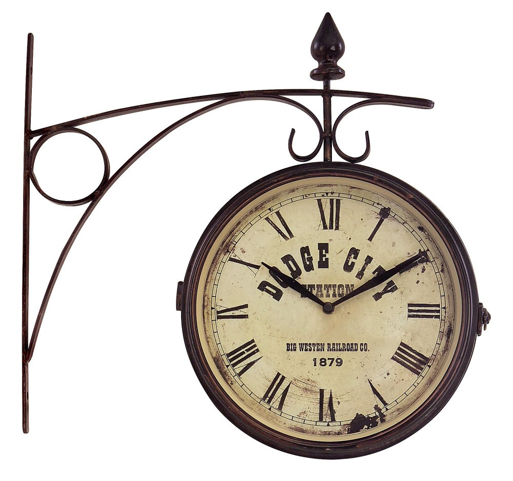 Old fashioned clock with world clipart graphic freeuse stock IMAX Worldwide Old Fashioned Train Station Clock - Clip Art ... graphic freeuse stock