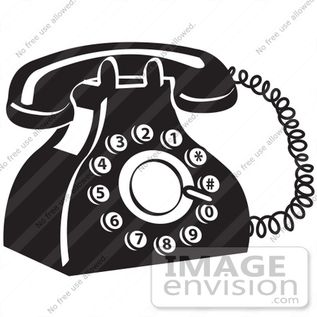 Old fashioned phone clipart black and white stock Old Fashioned Black Phone Clipart Astonishing Telephone Cliparts ... black and white stock