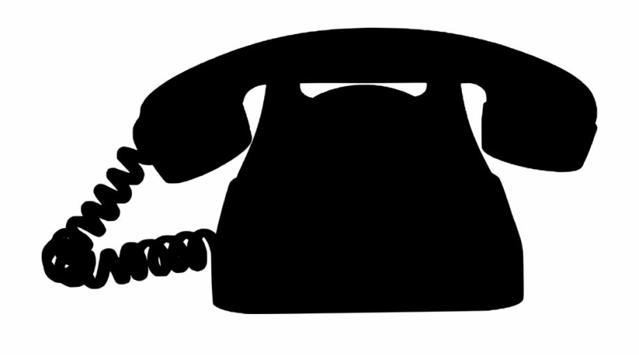 Old fashioned phone clipart banner freeuse stock Clipart Phone Old Fashioned Phone - Silueta De Un Telefono Free PNG ... banner freeuse stock