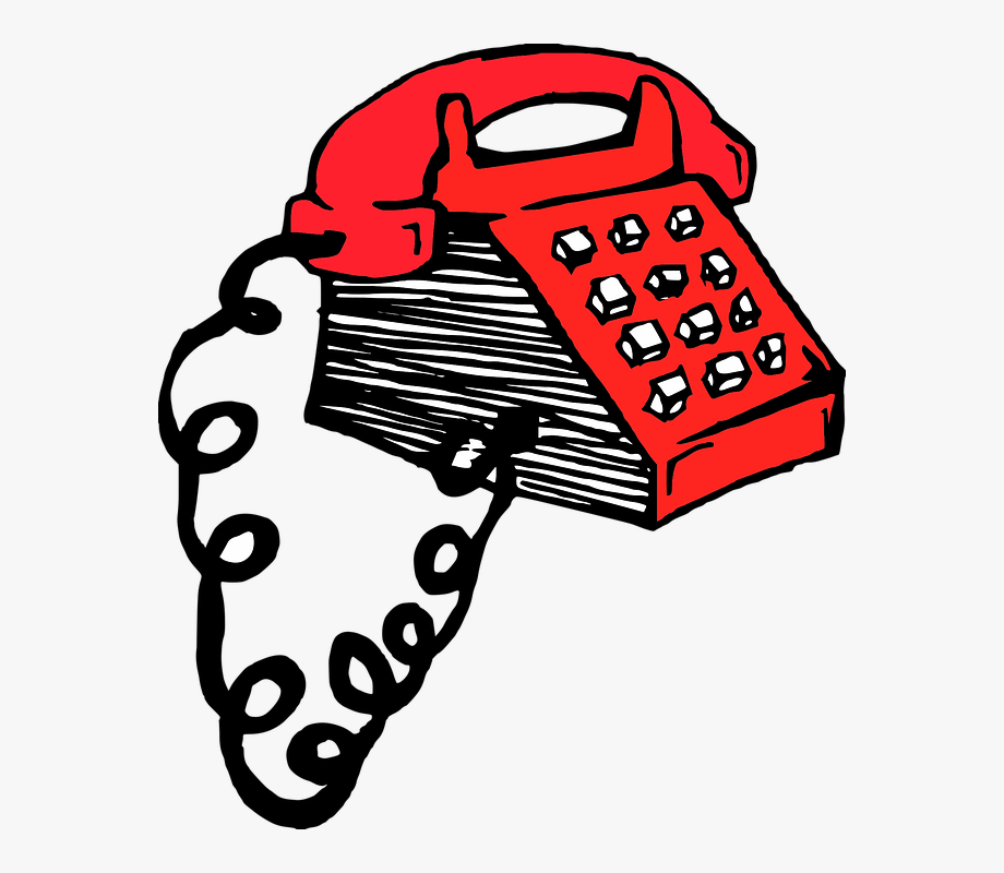 Old fashioned phone clipart svg freeuse download Phone Retro Red Old-fashioned Vintage Telephone - Old Timey Phone ... svg freeuse download
