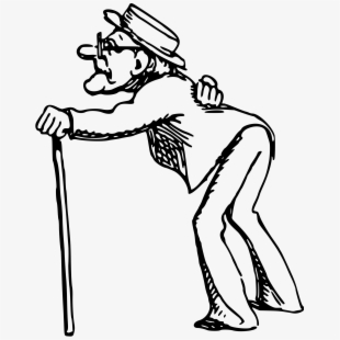 Old geezer getting to finish line clipart image transparent download Free Old Man Clipart Cliparts, Silhouettes, Cartoons Free ... image transparent download