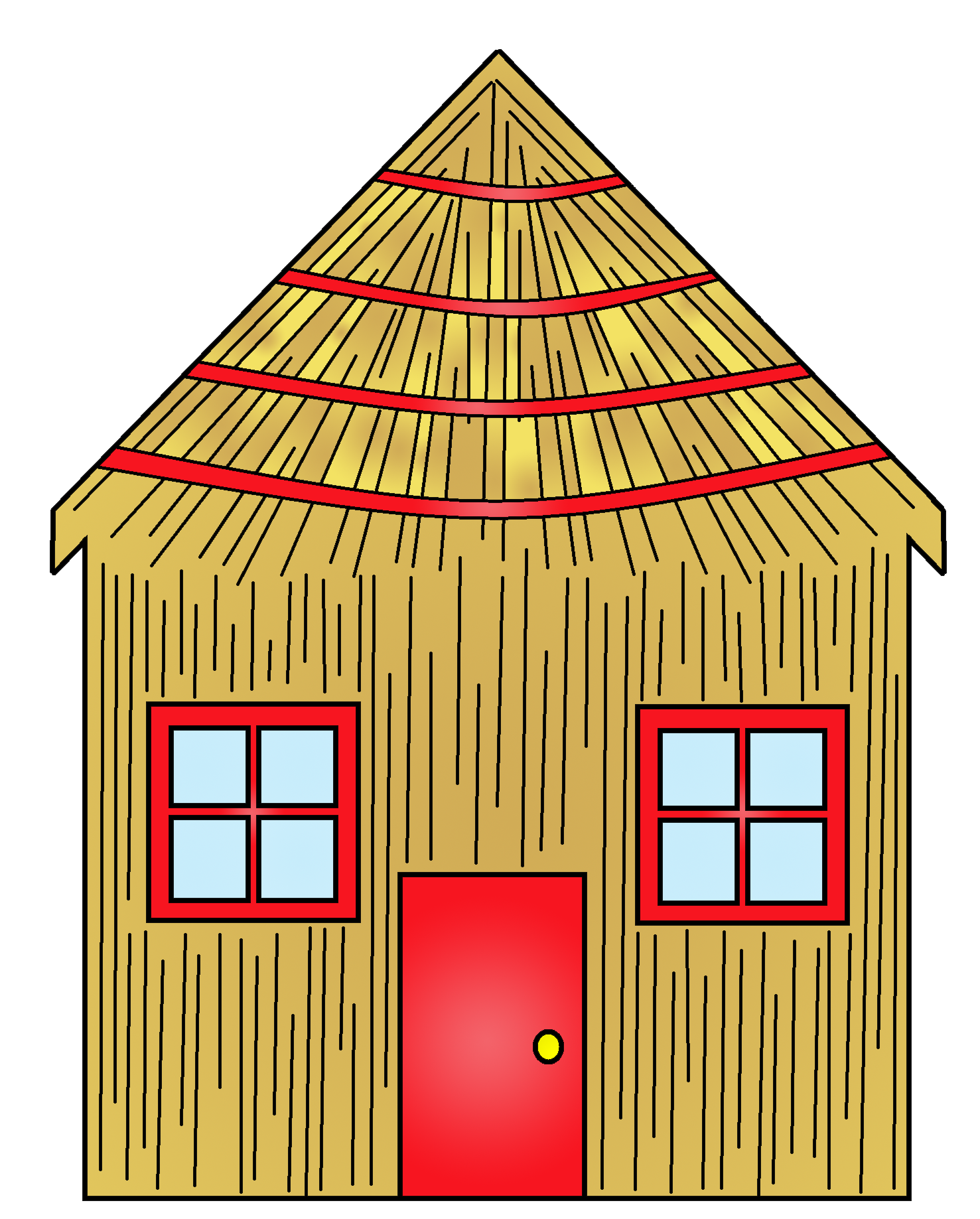 Old house clipart png free download House of sticks clipart png free download