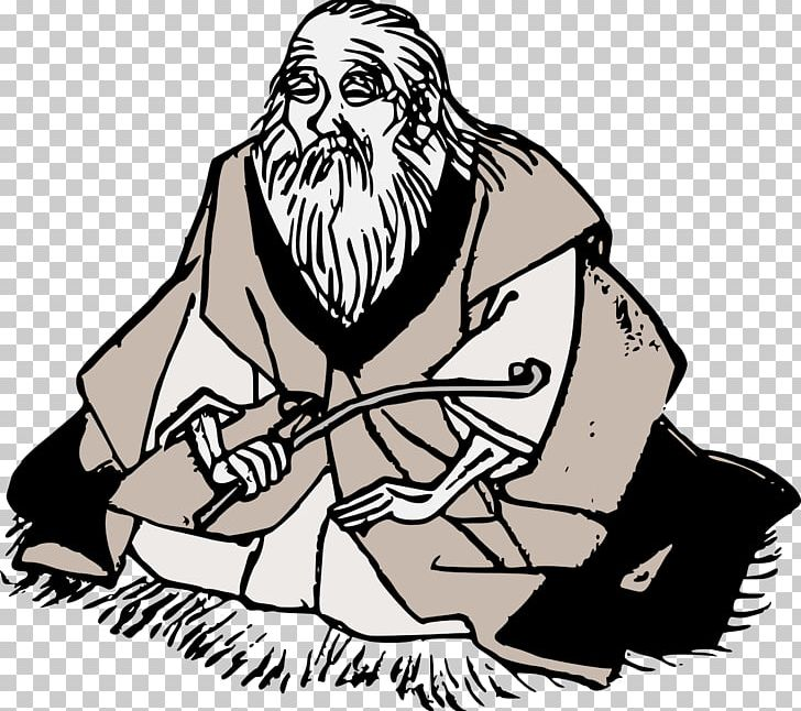 Old man clipart black and white png svg royalty free download Wise Old Man PNG, Clipart, Art, Artwork, Black And White ... svg royalty free download