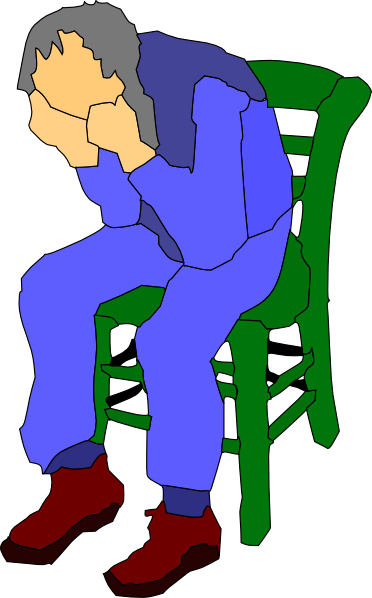 Old man in chair clipart royalty free Man Sitting On A Chair Clip Art at Clker.com - vector clip ... royalty free