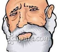 Old man with beard clipart png black and white stock Old man with beard clipart 8 » Clipart Station png black and white stock