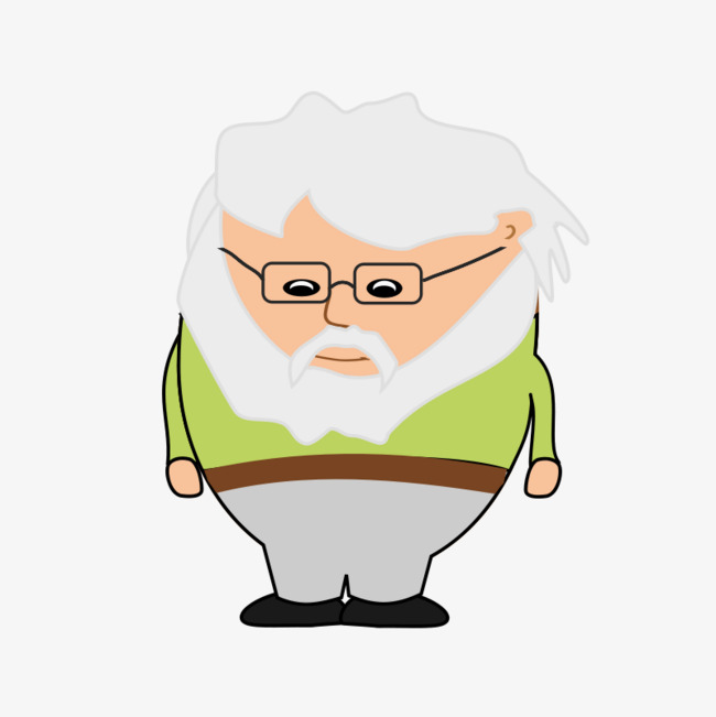 Old man with beard clipart image Old man with beard clipart 9 » Clipart Station image