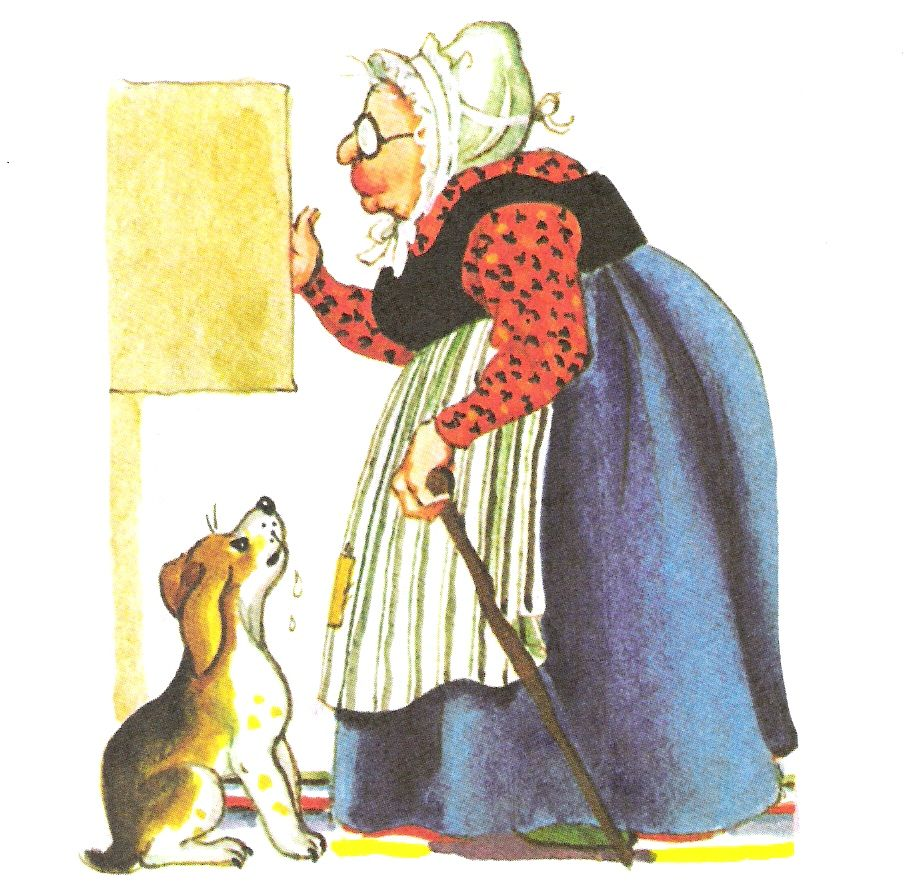 Old mother hubbard clipart vector stock Old Mother Hubbard poem Old Mother Hubbard Went to the ... vector stock