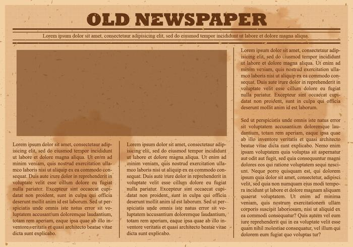 Old newspaper clipart picture transparent stock Old Newspaper Vector - Download Free Vectors, Clipart ... picture transparent stock