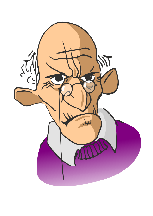 Old people with money clipart png black and white library Old man talking clipart clipartfest - Clipartix png black and white library