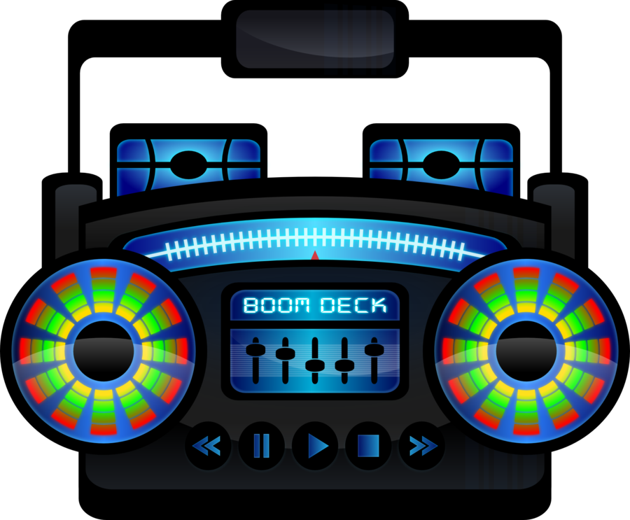 Old school boombox clipart clip art black and white download Boom Box Clipart at GetDrawings.com | Free for personal use Boom Box ... clip art black and white download