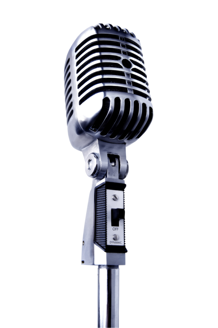 Old school microphone clipart vector library library Astute Productions - Astute Productions vector library library