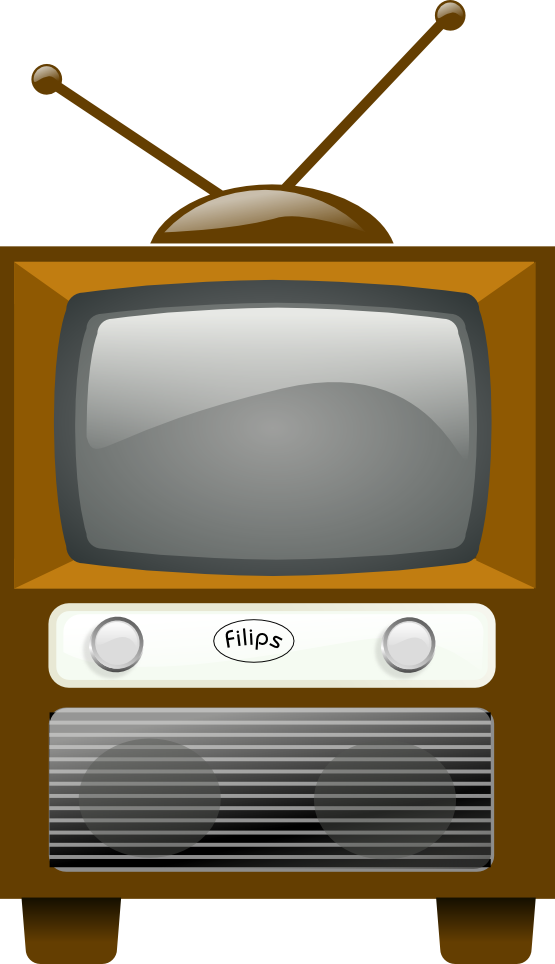 Old school tv clipart clip free 28+ Collection of Old Tv Set Clipart | High quality, free cliparts ... clip free