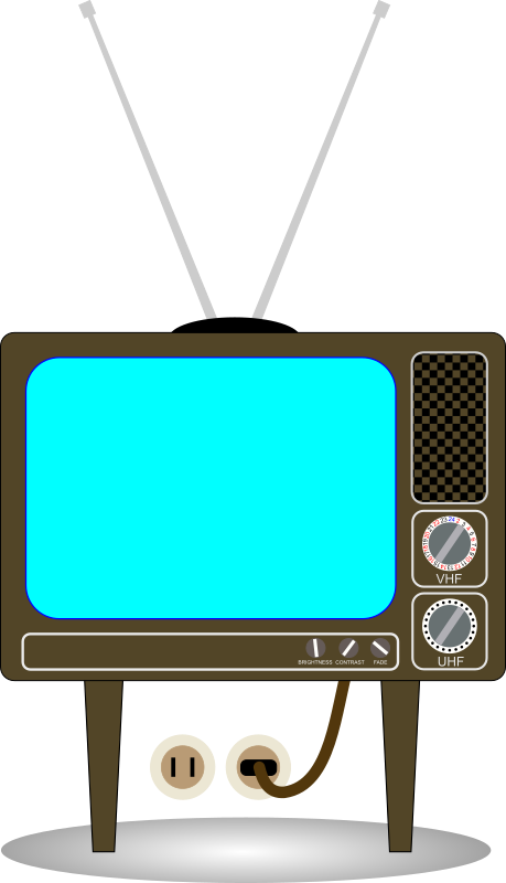 Old school tv clipart clip transparent stock 28+ Collection of Free Clipart Tv Set | High quality, free cliparts ... clip transparent stock