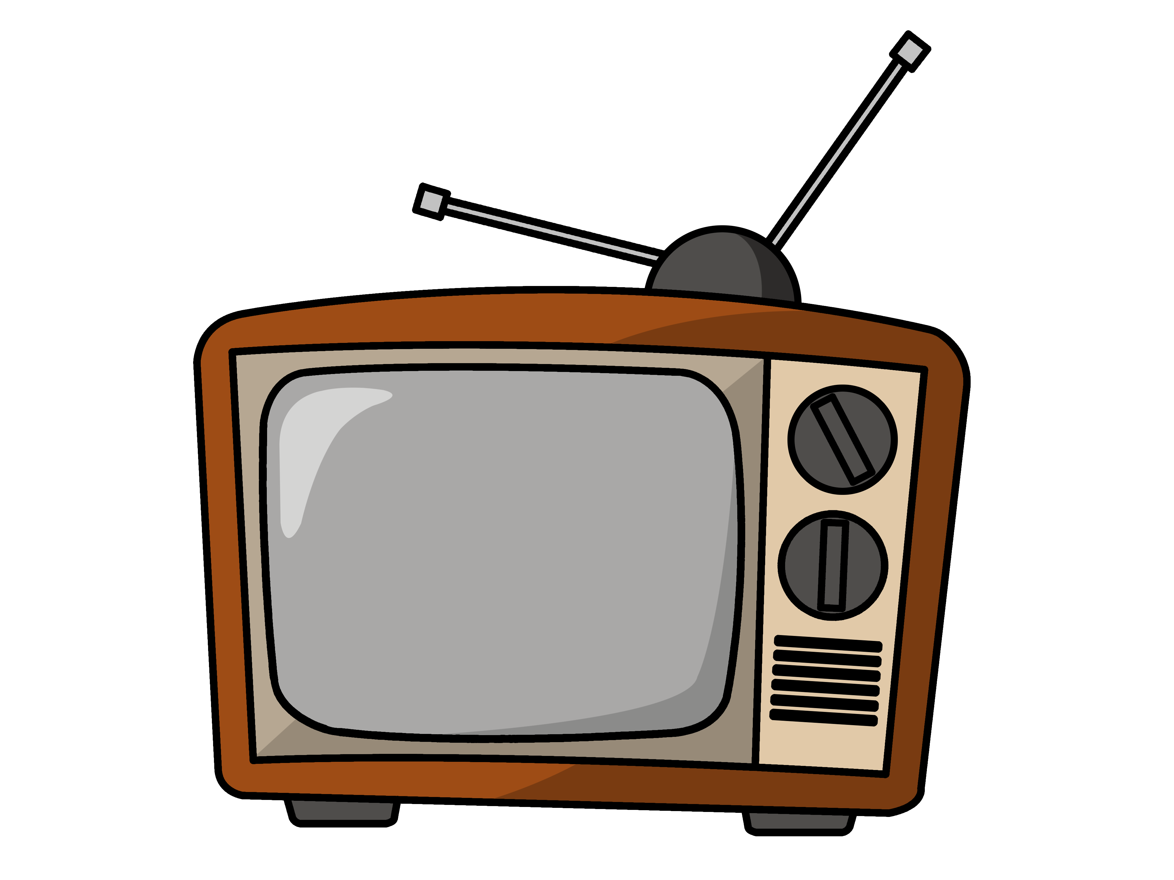 Old school tv clipart graphic stock 28+ Collection of Tv Clipart Png | High quality, free cliparts ... graphic stock