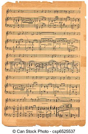 Old sheet music clipart svg library Old sheet music clipart - ClipartFest svg library