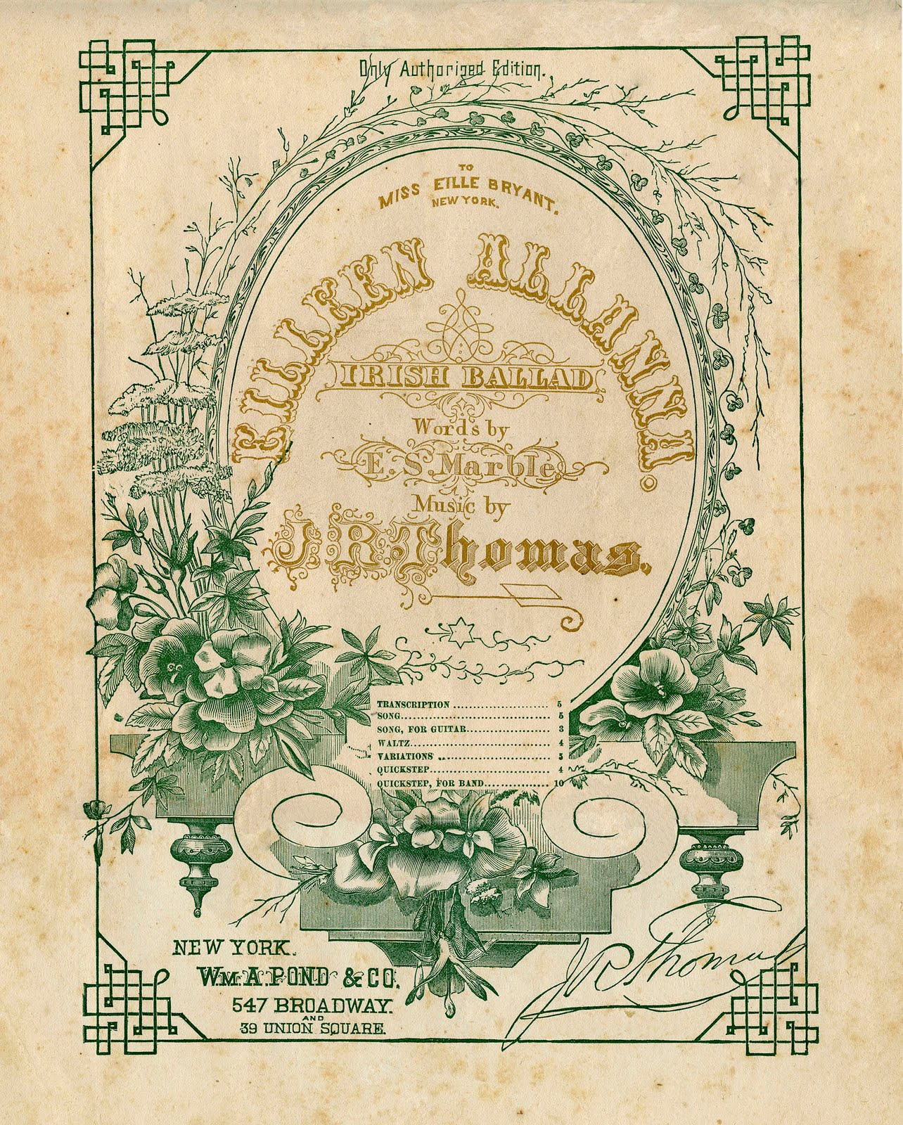 Old sheet music clipart graphic royalty free Vintage Ephemera Clip Art - Amazing Sheet Music Frame - The ... graphic royalty free