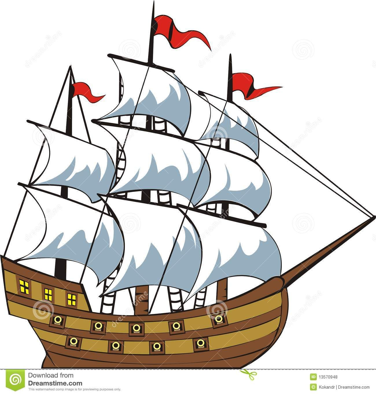 Old ship clipart banner freeuse sailing ship side - Google Search | pirates | Ship drawing ... banner freeuse