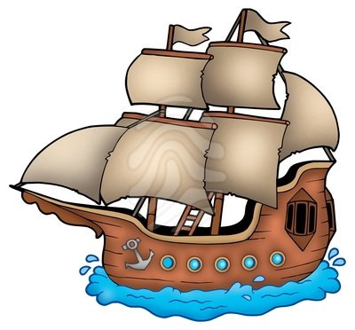 Old ship clipart image transparent library Clip art: Old ship | Clipart Panda - Free Clipart Images image transparent library