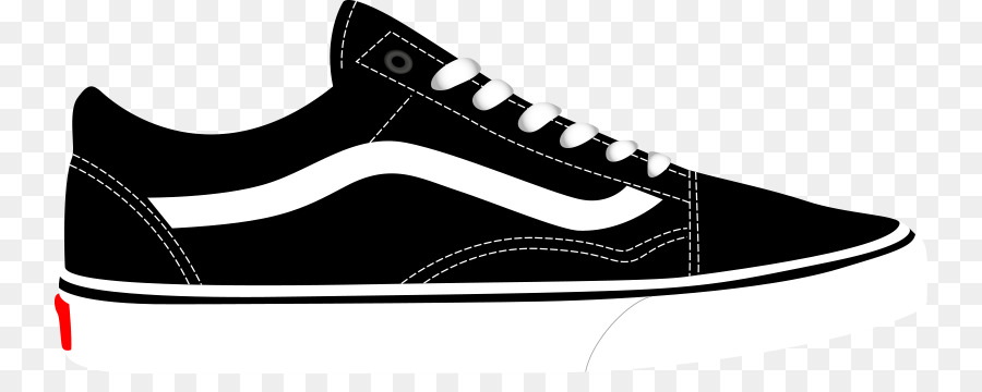 Old skool vans clipart image black and white download Nike Logo White png download - 800*343 - Free Transparent ... image black and white download