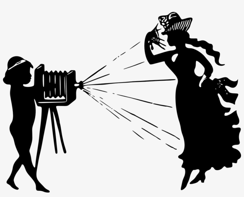 Old time camera clipart vector black and white library Photography Clipart Fashion Photography - Old Time Camera ... vector black and white library