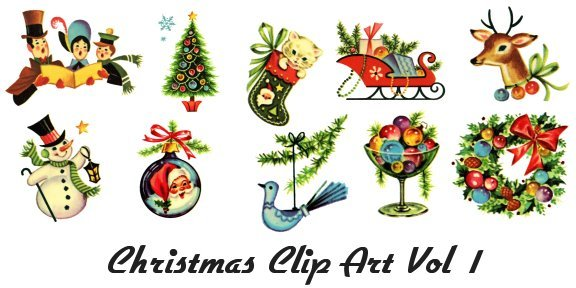 Old time christmas clipart image black and white Old fashioned christmas clipart 4 » Clipart Portal image black and white
