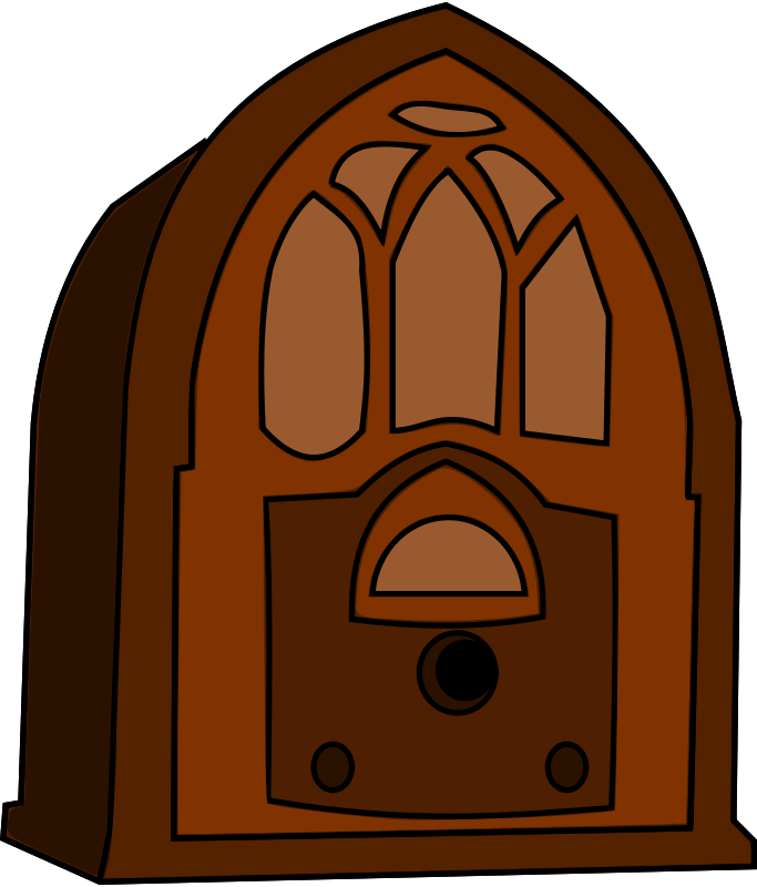 Old time clipart banner Free Clipart: Old Time Radio | notKlaatu banner