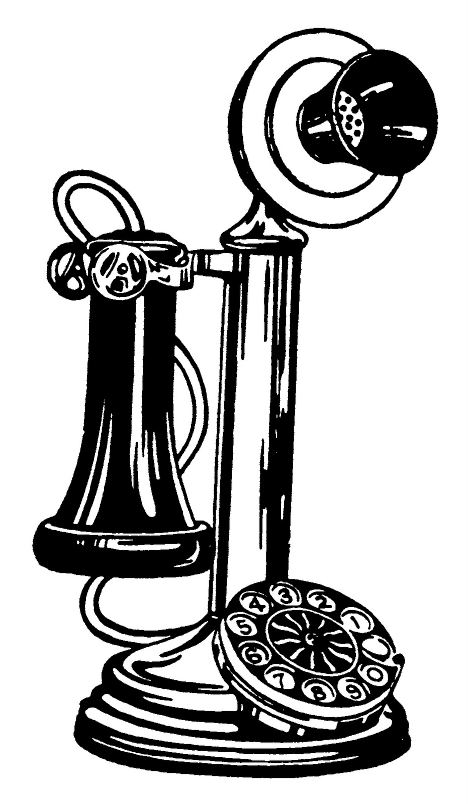 Old timey clipart picture black and white download Old-Fashioned Cliparts - Cliparts Zone picture black and white download