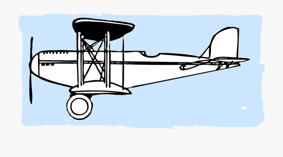 Old timey wright brothers clipart picture royalty free download Airplane Clipart Cartoon - Wright Brothers Plane Outline ... picture royalty free download
