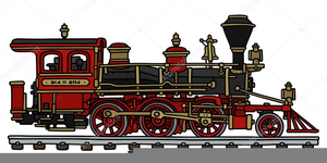 Old train clipart clip royalty free library Old Train Clipart | Free Images at Clker.com - vector clip ... clip royalty free library