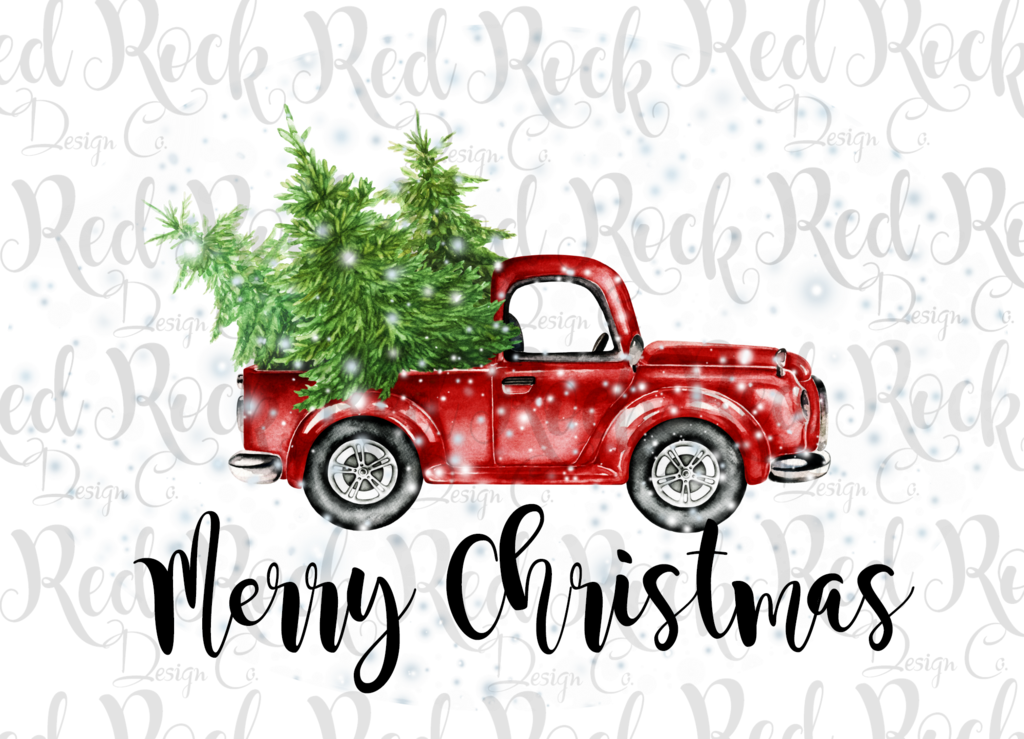 Old truck with christmas tree in back clipart png image freeuse Antique car Duck in the Truck Clip art - tale clipart png ... image freeuse