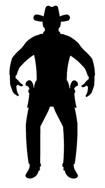 Old west sun black and white clipart clipart library stock Old West Clipart Silhouette | Free Images at Clker.com ... clipart library stock