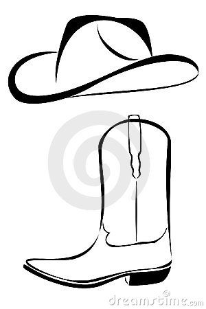 Old west sunrise black and white clipart banner free stock western black and white clip art   Tribal Cowboy Hat And ... banner free stock