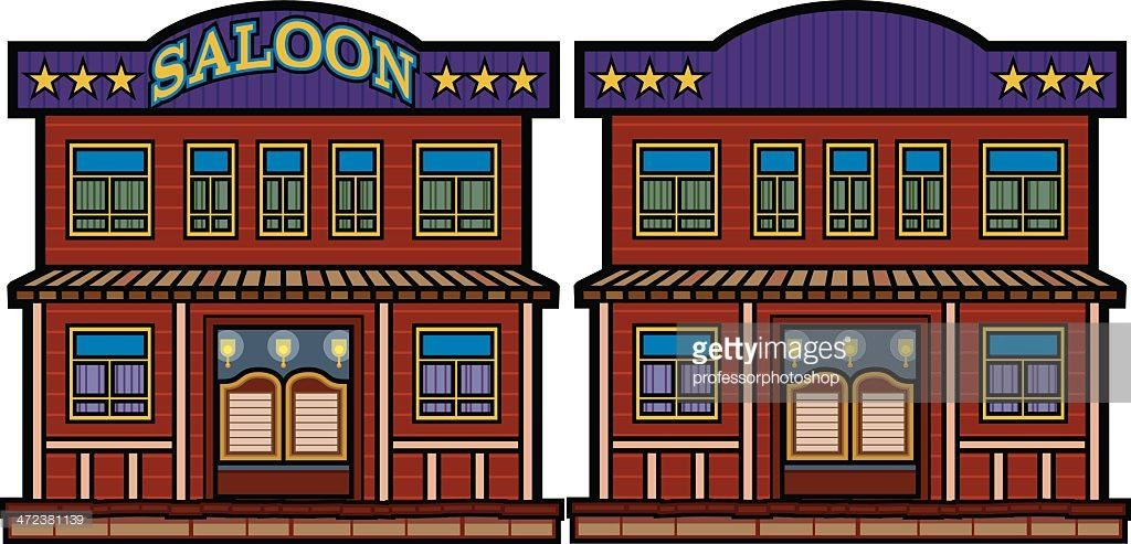 Old western saloon clipart image free library Image result for old west buildings clip art | old west ... image free library