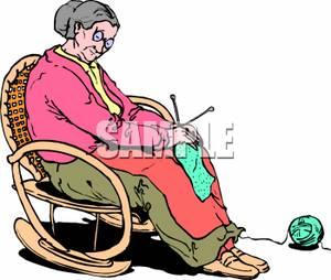 Old woman clipart black and white rocker clip royalty free download Rocking Chair Clipart | Free download best Rocking Chair ... clip royalty free download