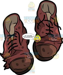 Olddress clipart clip art free download A Pair Of Old Dress Shoes clip art free download