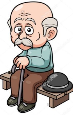 Older man reading clipart png transparent The Old Man on the Bench (short story) - The Encounter - Wattpad png transparent