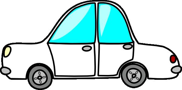 Older model white car clipart vector transparent Cartoon White Car Clip Art at Clker.com - vector clip art ... vector transparent
