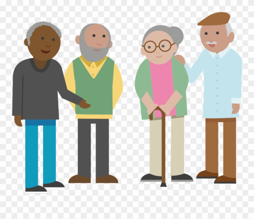 Older people clipart png black and white download Manchester Public2 All Artboards-group Of Older People ... png black and white download
