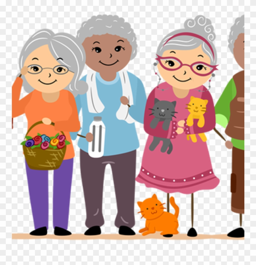 Older people clipart image black and white download Old People Clipart Old People Clip Art And Information - 1 ... image black and white download