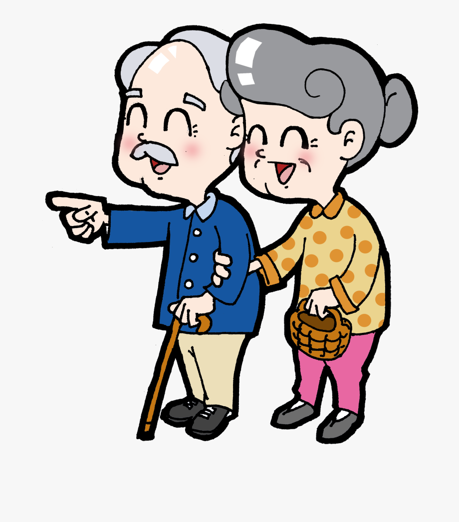 Older people clipart jpg library library Double Ninth Festival Age Elderly - Old People Cartoon Png ... jpg library library