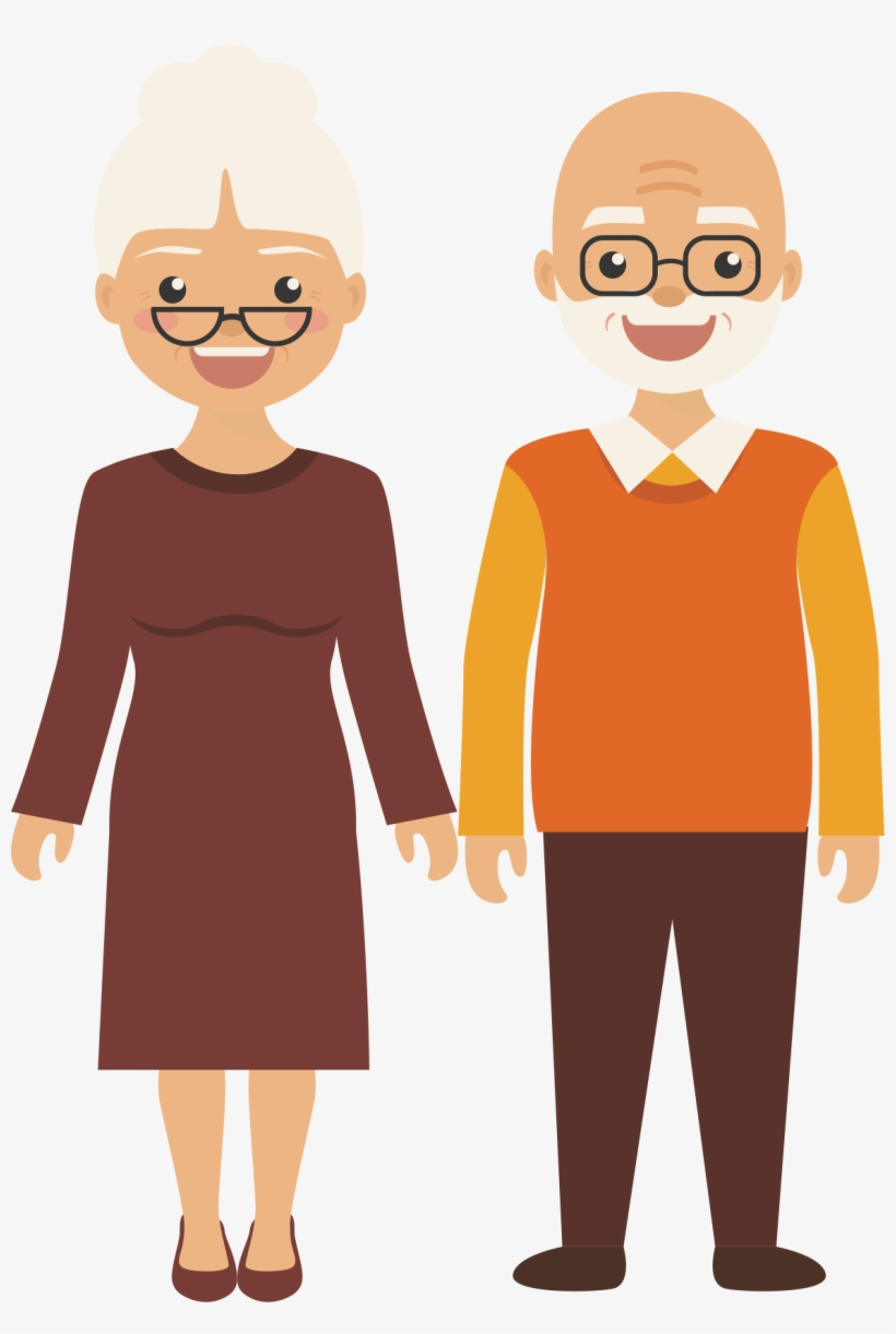 Older people clipart image free stock Old Age Clip Art - Old Age People Clipart Transparent PNG ... image free stock