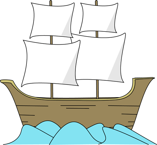 Old-sailingships-clipart-mayflower banner transparent stock Free Silhouttee Mayflower Cliparts, Download Free Clip Art ... banner transparent stock