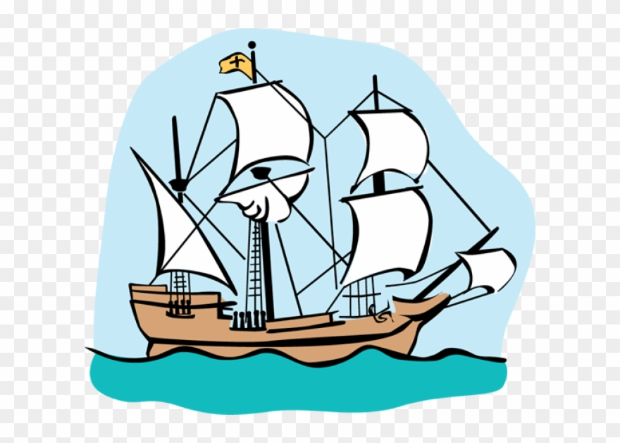 Old-sailingships-clipart-mayflower clipart library Colonial Ship Clip Art Clipart Ship Clip Art - Mayflower ... clipart library