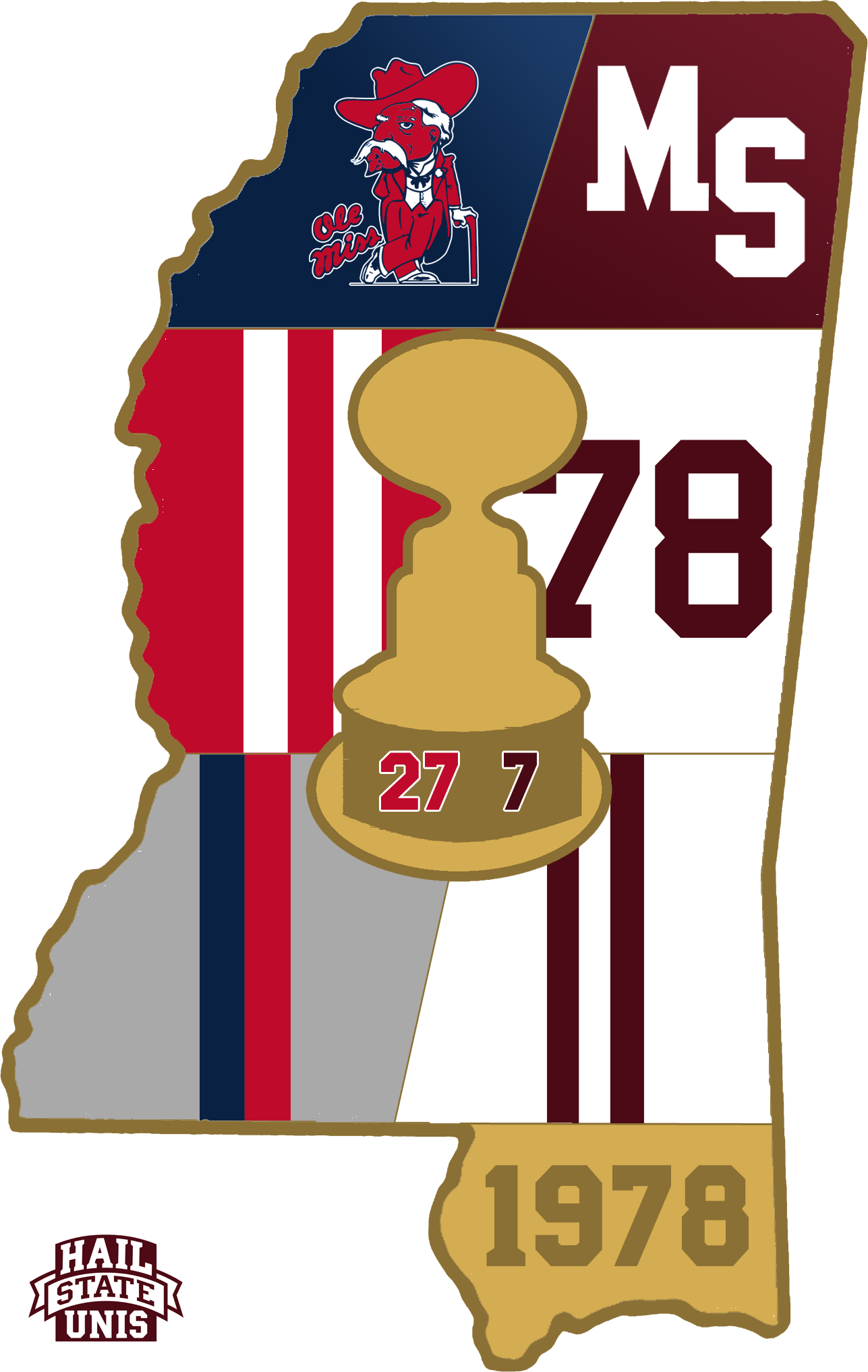 Ole miss football helmet clipart picture Egg Bowl Uniform History - Hail State Unis picture