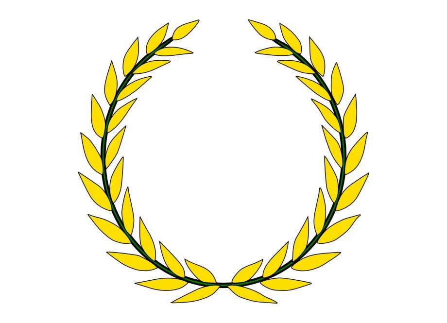 Olive leaf clipart jpg free download Gold Olive Wreath Clip Art - Gold Olive Leaf Crown ... jpg free download